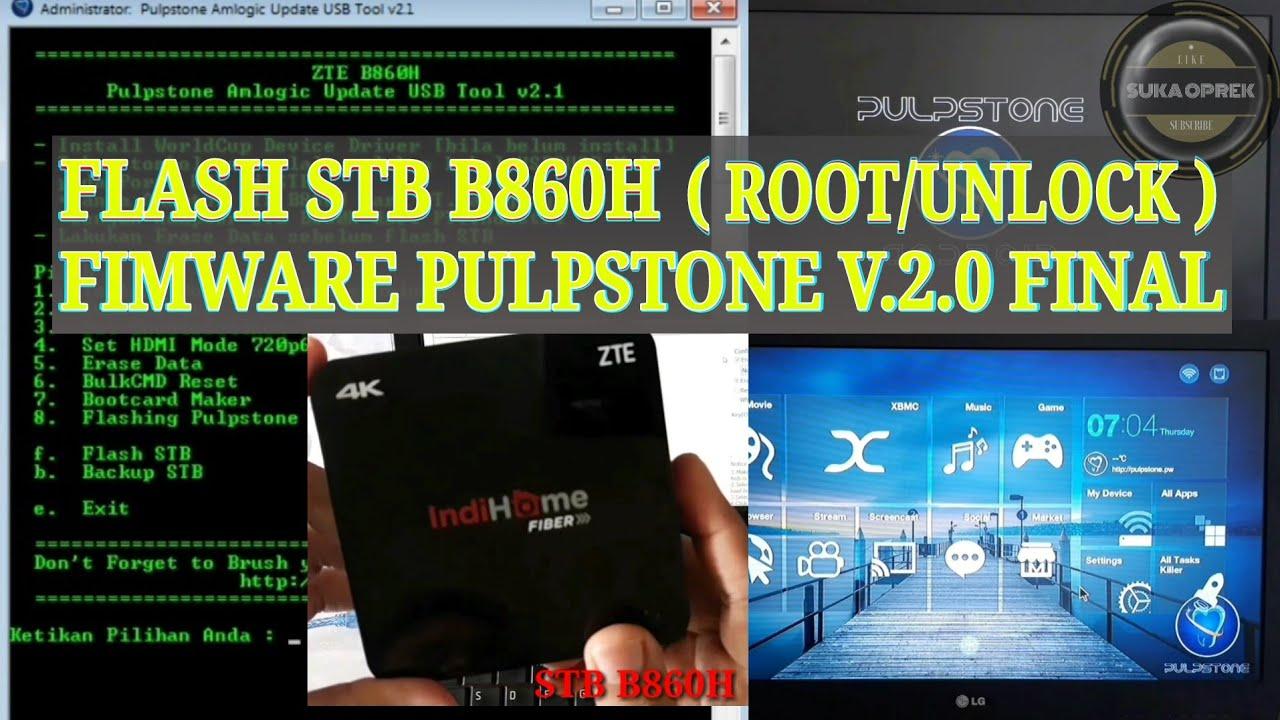 Stb Zte B860h 4k Firmware Root Unlock Leakite