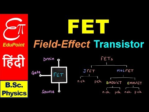 🔴 Field Effect Transistor - Introduction and Types || for B.Sc. in HINDI