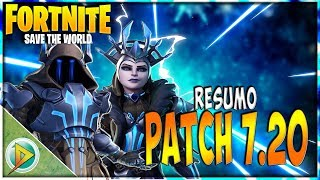 PATCH 7.20 SUMMARY-ICE KING AND QUEEN | IN FORTNITE: SAVE THE WORLD