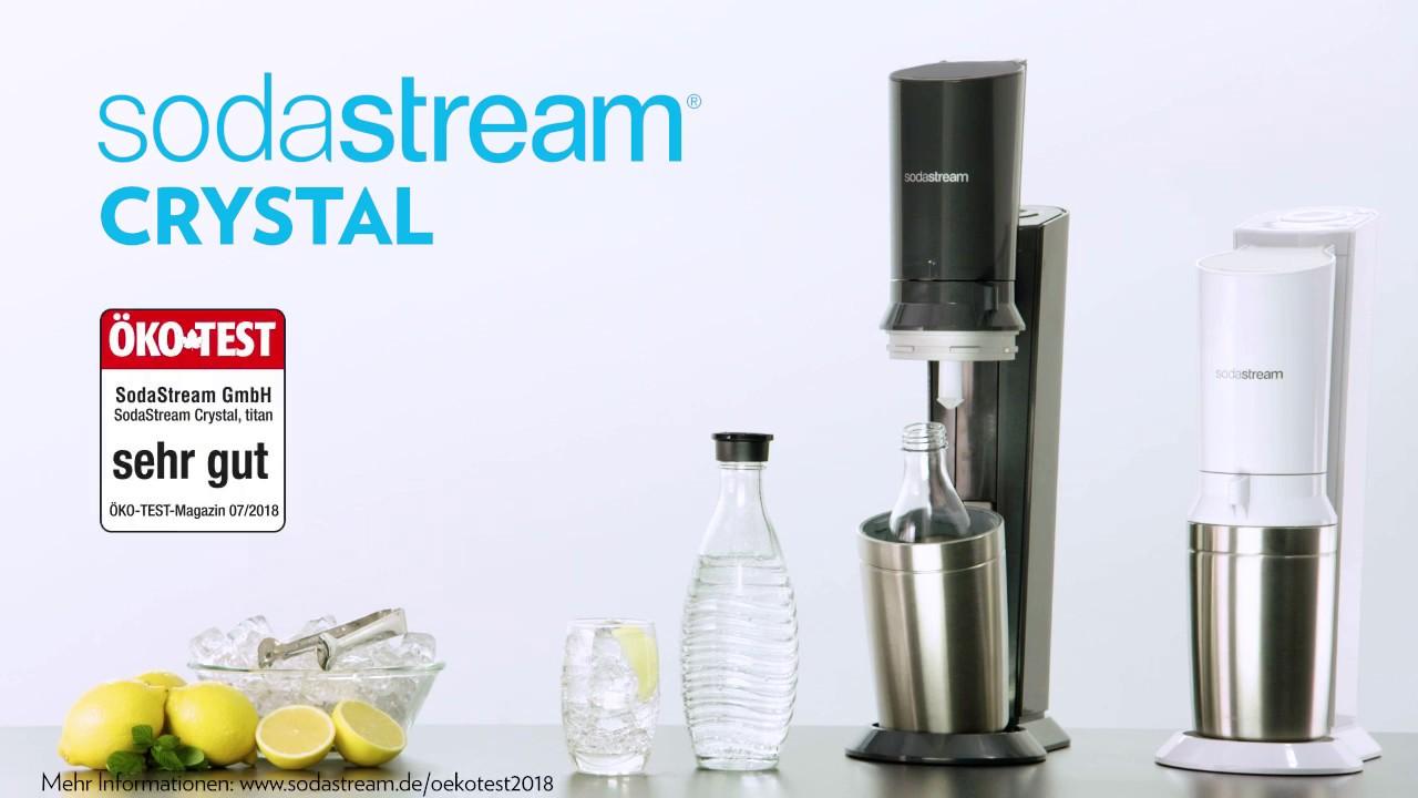 Crystal 2 0 Titan Wassersprudler Sodastream Onlineshop