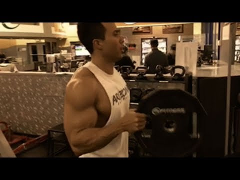Training Arms With Arnold Schwarzenegger Son  KENNY K.O.