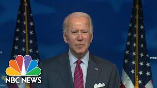 Biden Urges Congress To Pass Pandemic Relief Ahead Of 'Very Dark Winter' | NBC Nightly News