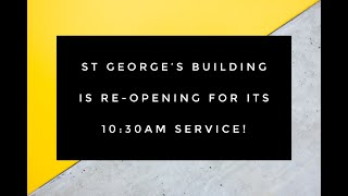 We are re-opening this Sunday!