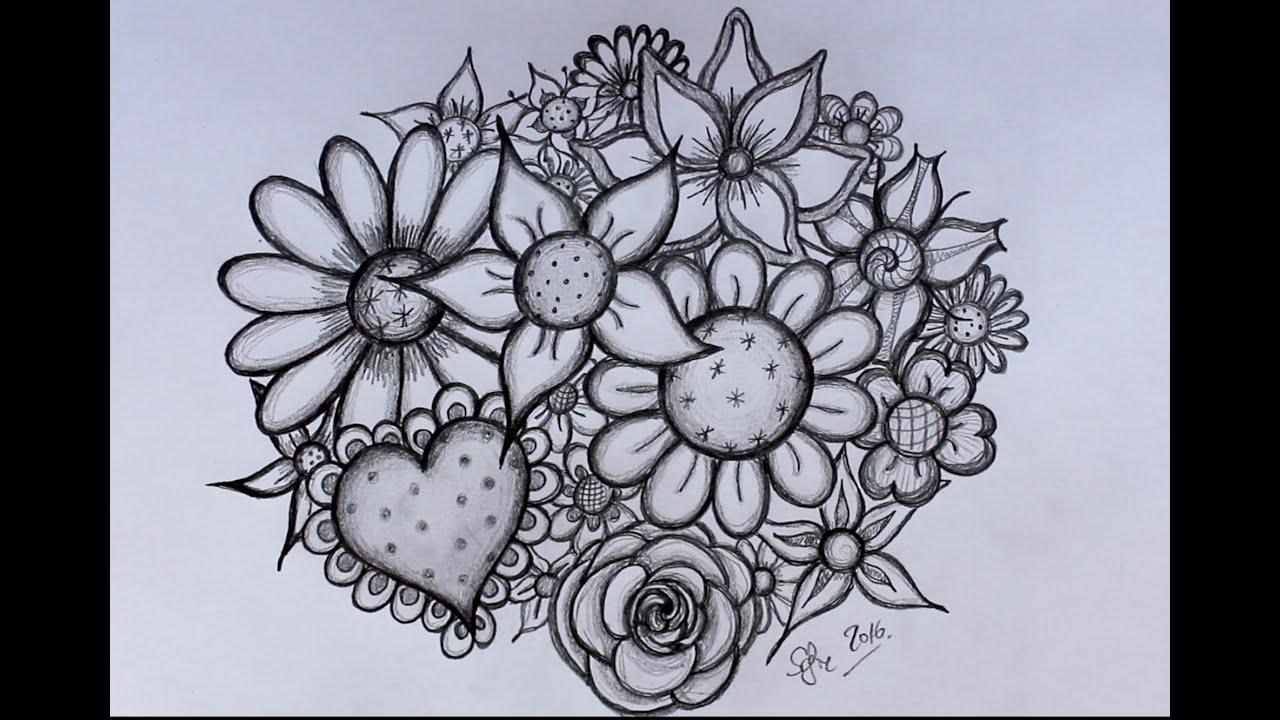 Zeer DIY: Bloemen tekenen - door Sofie Rozendaal - YouTube FW89