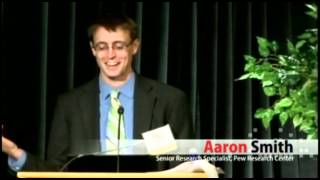 Aaron Smith from the Pew Research Center talks about digital communication pt. 2