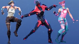 Fortnite All Dances Season 1-10 Updated to Infectious