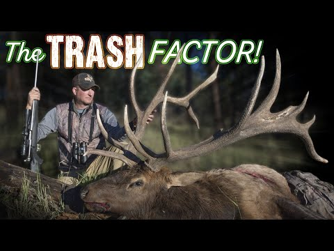 Loaded With Trash! Elk Hunting Colorado With Guy Eastman