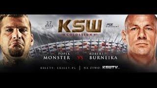 popek vs Burneika ksw 2017 2017 Video