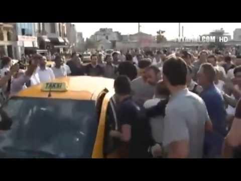Taksiciye Linç Girişimi, Gezi Parkı Dayağı   YouTube