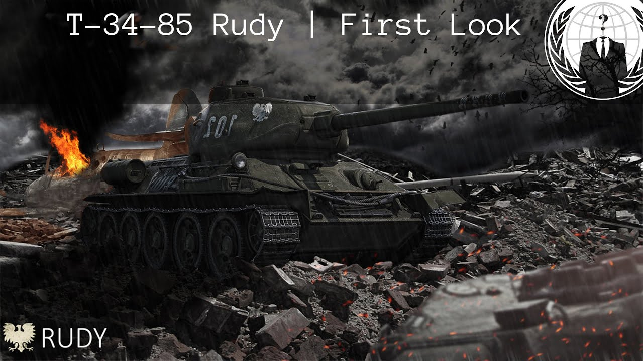 T-34-85 Rudy First Look | World of Tanks Blitz - YouTube