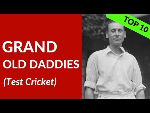 OLDEST Test CRICKETERS