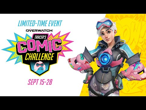 Tracer's Comic Challenge | Overwatch
