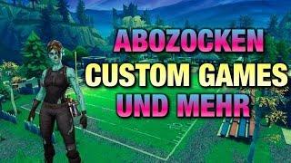🔴Fortnite CUSTOM GAMES LIVE🔴 Anyone can join🔴 #TCB rode to Creator Code (German/german)
