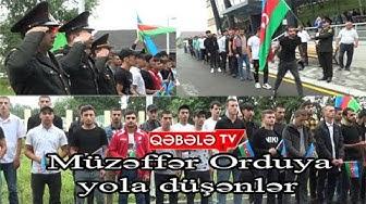 QƏBƏLƏDƏ HƏRBİ XİDMƏTƏ YOLA SALMA MƏRASİMİ-QƏBƏLƏ TV