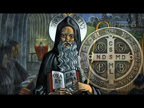 saint benedict latin singles Saint benedict: saint benedict, founder of the benedictine monastery at monte cassino and father of western monasticism the rule that he established became the norm for monastic living.