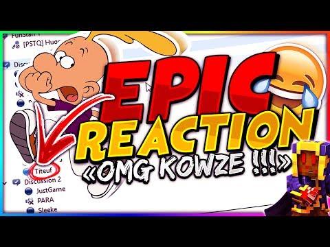 TROLL TEAMSPEAK AVEC TITEUF ?! ÉPIC RÉACTION #2