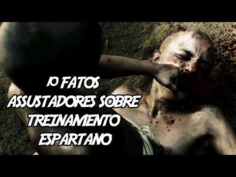 10 Fatos Assustadores sobre Treinamento Espartano