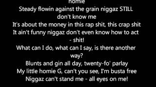 2pac - all eyez on me lyrics