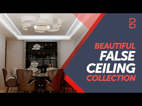 Modernised False Ceilings For Your House Bonito Designs