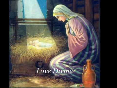 Love Came Down at Christmas, Love all Lovely Love Divine.