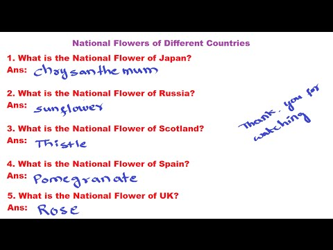 General Studies   National Flowers of Different Countries   What is the National Flower of Japan?