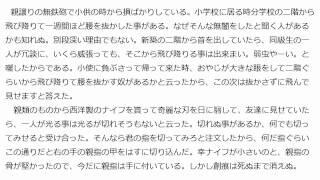 """夏目漱石  『坊っちゃん』 の冒頭 Soseki Natsume """"Botchan"""""""