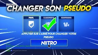 TUTO/ Change Pseudo Easily and Free On FORTNITE