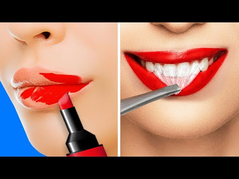BEAUTY IDEAS AND TRICKS || 25 HACKS EVERY GIRL SHOULD KNOW