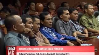 [ video ] KPU dan Pemenang Pemilukada Kabupaten Kerinci Bantah Tuduhan Pemohon