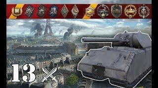 World of Tanks / Maus .. 13 kills