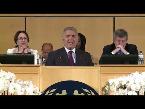 Presidente Iván Duque ante la Organización Internacional del Trabajo (OIT) - 19 de junio de 2019