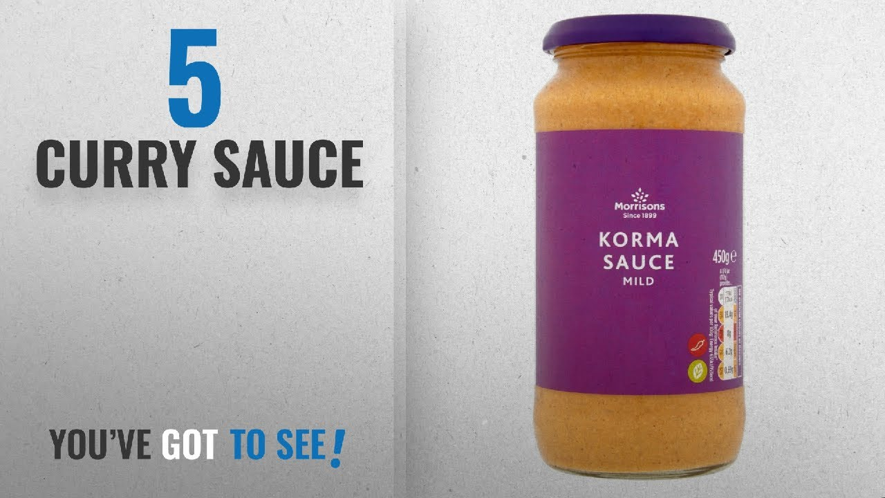 Top 10 Curry Sauce 2018 Morrisons Korma Sauce 450g