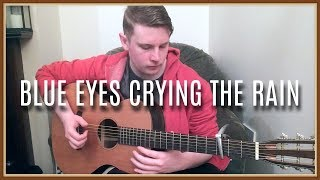Blue Eyes Crying In The Rain - Willie Nelson (Solo Fingerstyle Guitar)