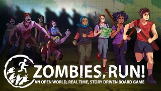 Zombies, Run! The Board Game - Kickstarter Trailer