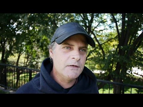John is homeless in Ottawa and talks about the increased violence against homeless people