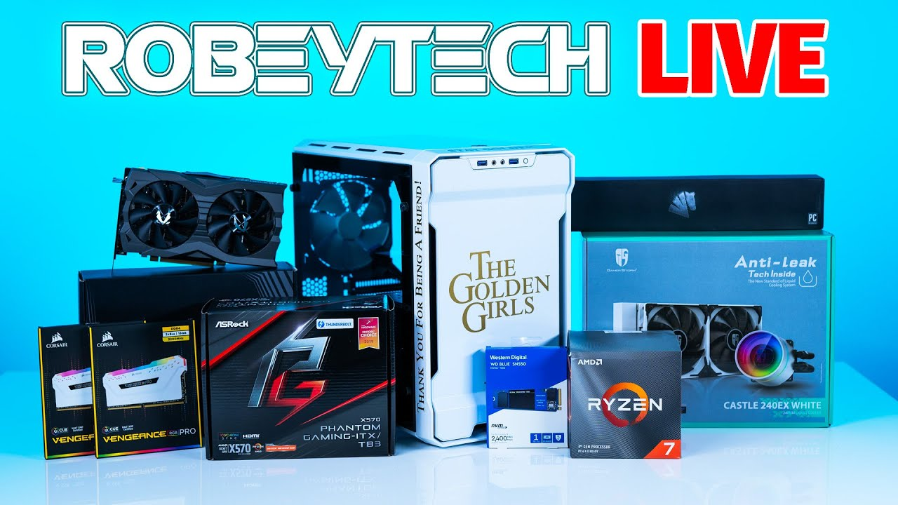 Download How to Build A PC - Newegg Now - Giveaways/Tech Deals + $2200 Golden Girls Build (3700x/2070 Super)