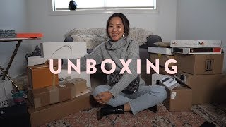 Unboxing - Chanel, Louis Vuitton & Cool New Designers  | Aimee Song