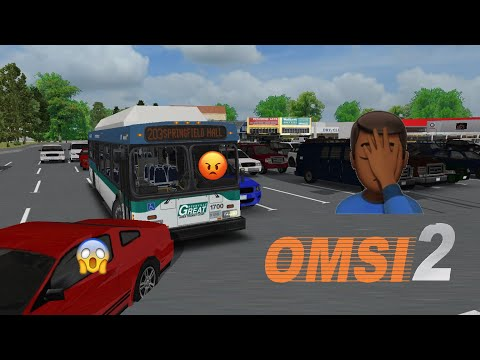 Bus Driver Gets Mad at Passengers (OMSI 2) Part 1 |