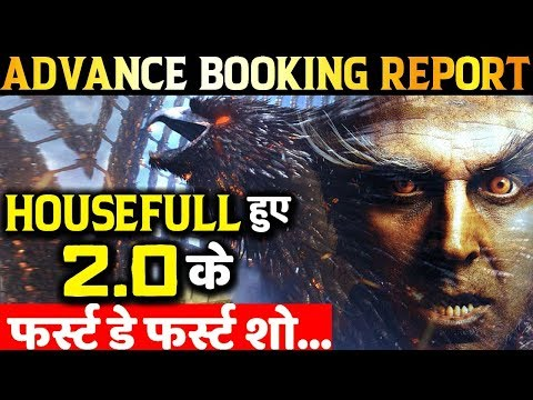 2.0 ADVANCE BOOKING REPORT: Akshay Kumar- Rajnikanth Will Have MASSIVE Opening At Box Office!
