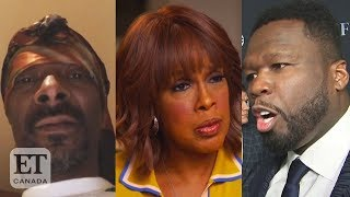 50 Cent, Snoop Dogg React To Gayle King's Kobe Bryant Assault Question