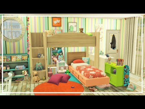 Baby Girl S Nursery The Sims 4 Room Build Doovi