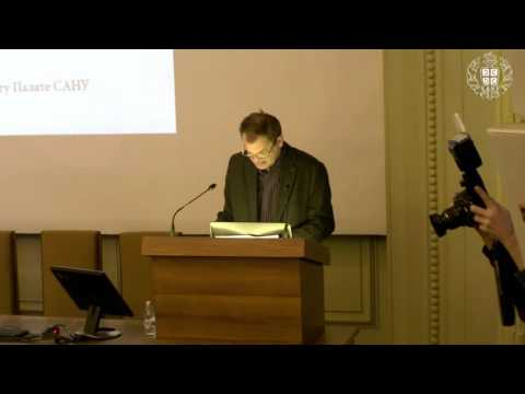 Orhan Pamuk in the Serbian Academy of Sciences and Arts