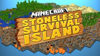 STONELESS SURVIVAL ISLAND (Ep.1) ★ Minecraft: Dumb & Dumber
