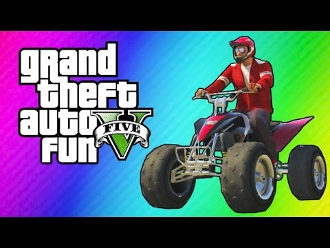 GTA 5 Online - ATV Adventure (Funny Moments, King of ATVs Mi