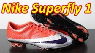 Nike Mercurial Vapor Superfly 1 SAMPLE - Retro Review & On Feet
