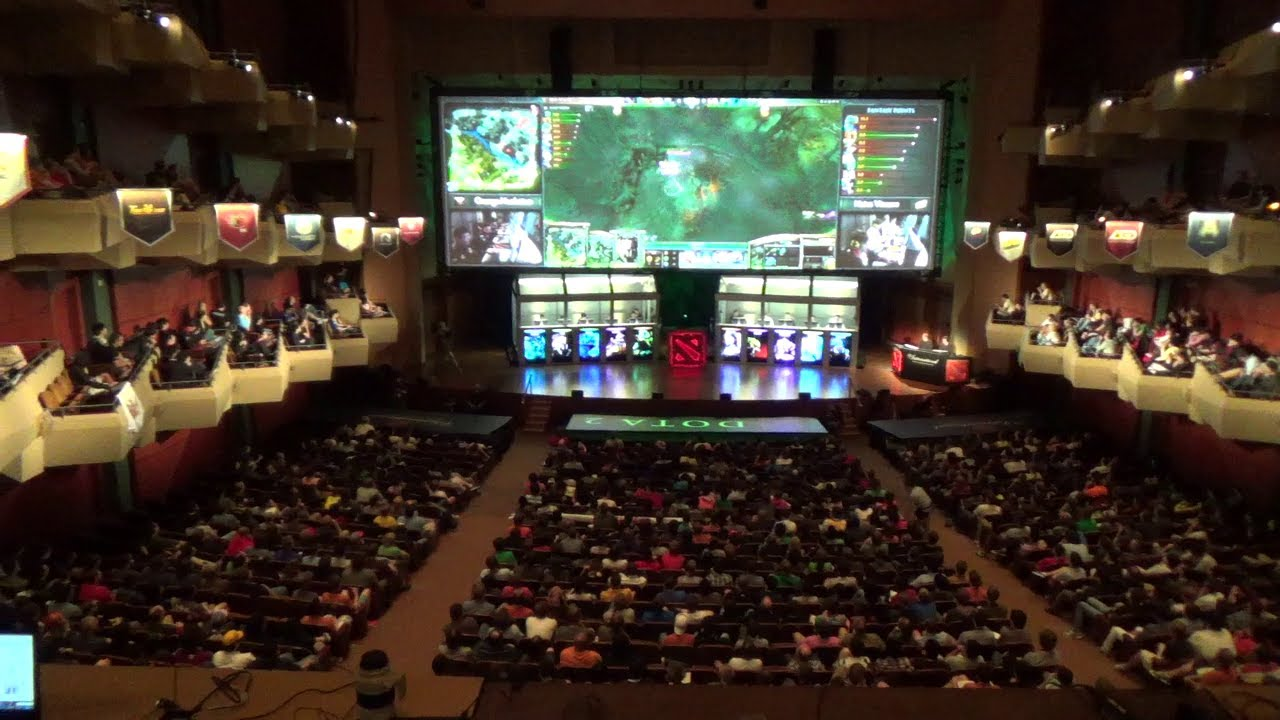dota 2 ti3 the international 3 orange vs na vi arena feel