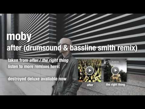 Moby - After (Drumsound & Bassline Smith) HQ Audio