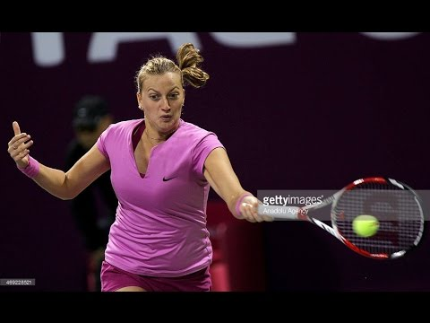 Kvitova VS V.Williams Highlight (Doha) 2014 R2