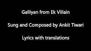 Teri galliyan lyrics full song