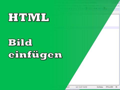 Bild In HTML Einfügen | Tutorial